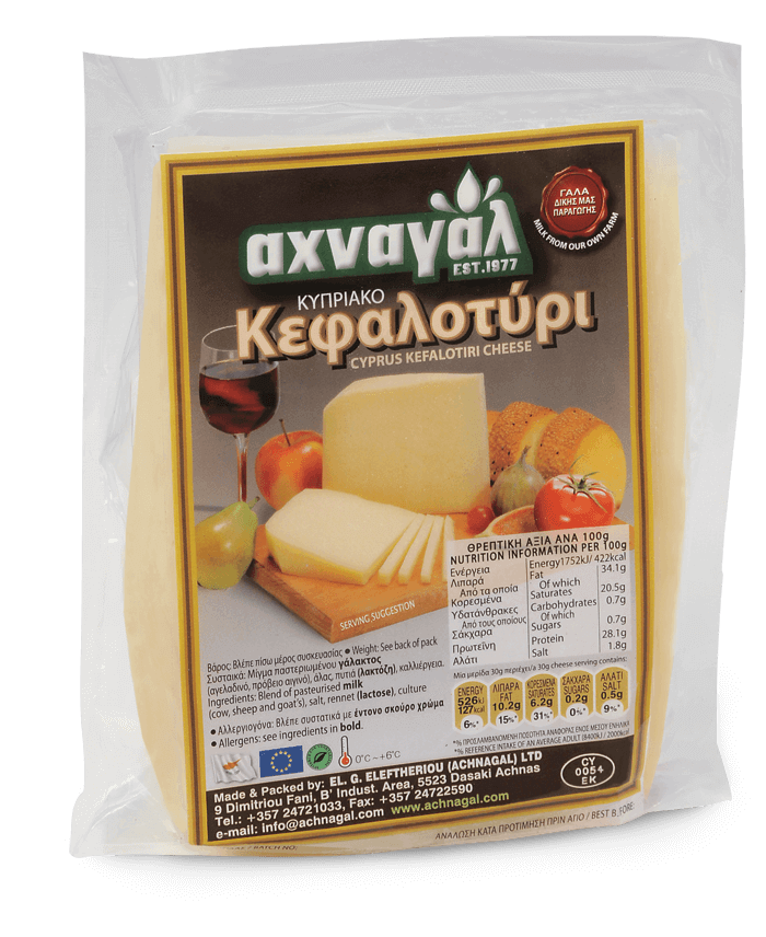 Kefalotiri cheese meatballs with basil